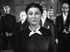 Judith Anderson — one of the best villains of all time....(Mrs. Danvers in Rebecca).
