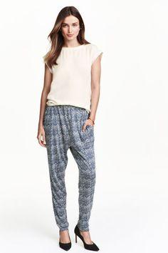 Pantalon en jersey Loose fit | H&M