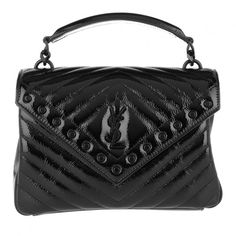 523fce1d78 Discover Saint Laurent College Medium Shoulder Bag Leather Black