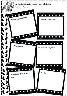 free cinema worksheets vocabulary for kids Writing Strategies, Writing Advice, Writing Activities, Read In French, Learn French, French Teaching Resources, Teaching French, Teaching Ideas, Hollywood Theme Classroom