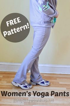 Comfortable pants sewing