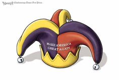 A weekly roundup of funny and provocative cartoons by the nation's top cartoonists.: Making America a Joke