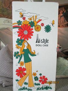 Vintage Doll Case