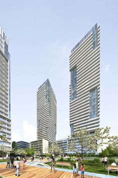 CENTRAL PARK, Sheppard Avenue East at Leslie Street, Toronto, Canada, Amexon, Units 338, Storeys 55, GFA 666, 515 sq.ft.