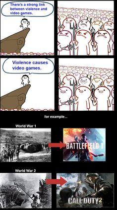 50 Memes That Make Fun Of The Idea That Video Games Cause Violence