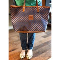 I can fit everything in this bag ♡♡♡ @barringtongifts #barringtongifts #polkadots