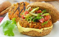 <p>These delicious burgers are a composition of deliciously spiced patties with the addition of an aioli inspired by nitter kibbeh, also known as Ethiopian butter.</p>