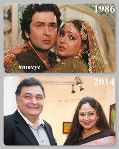#RishiKapoor #RatiAgnihotri #BollywoodFlashback #80s #NowAndthen #ThenAndThen #muvyz091918 #instagood #instadaily #muvyz #instapic Bollywood Actors, Bollywood Celebrities, Rishi Kapoor, Hema Malini, Indian Star, Vintage Bollywood, Film Industry, Then And Now, Indian Beauty