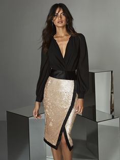 Find out the perfect Cocktail Dress that fits with your Style. Complete your look here! Paris Chic, Evening Outfits, Evening Dresses, Sexy Dresses, Fashion Dresses, Party Dresses, Outfits Dress, Two Piece Cocktail Dresses, Vestidos Sexy