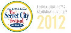 June 15 and 16 Secret City Festival