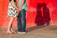 Deep Ellum Engagement Photos - Amy Herfurth Photography