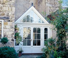 Whether it is a large period conservatory, a small kitchen conservatory or a modern conservatory, Vale Garden Houses have the knowledge and experience to design bespoke conservatories in any style for any property. House Design, Glass House, Cottage, House, House Front, Modern Loft, Small Conservatory, Modern Conservatory, Orangery