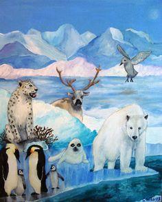 "Saatchi Art Artist Christophe Williart; Painting, ""Le Grand Nord"" #art"
