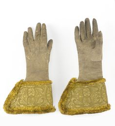 King William's Gauntlets,Ireland, ca. 1690.