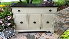 Duncan Phyfe Painted Buffet on