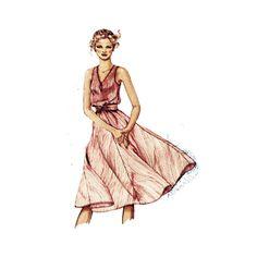 1980s Casual Summer Dress & Sailor Dress by PatternAndStitch, $8.00