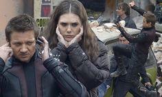 Jeremy Renner and Elizabeth Olsen film Avengers: Age of Ultron sequel #DailyMail