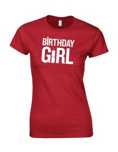 Happy Birth Day T-Shirt Birth Day Girl t shirt new by trustshoponline on Etsy