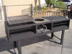 20 Outdoor Grill Designs and What to Look for When Buying – My Life Spot Bbq Grill, Bbq Pit Smoker, Fire Pit Grill, Outdoor Oven, Outdoor Cooking, Homemade Grill, Parrilla Exterior, Brazilian Bbq, Smoke Grill