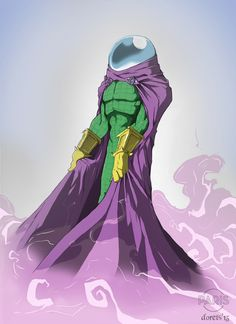 "nerdy-heaven: ""Mysterio (Color) by dorets"" Marvel Villains, Marvel Comics Art, Marvel Heroes, Marvel Comic Character, Comic Book Characters, Marvel Characters, Comic Books, Spiderman Art, Amazing Spiderman"
