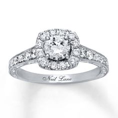 Previously Owned Neil Lane Engagement Ring ct tw Diamonds White Gold Engagement Ring For Her, Engagement Ring Buying Guide, Solitaire Engagement, Kay Jewelers Engagement Rings, Disney Engagement Rings, Neil Lane Diamond Rings, Neil Lane Bridal Set, Kay Jewelers Bridal Sets, Future Mrs