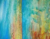 """Abstract Acrylic Painting Original Fine Art Titled..""""Cascading 3"""" size-36x60 By Ava"""