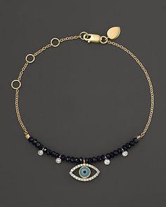 Meira T Turqoise Evil Eye Bracelet | Bloomingdale's