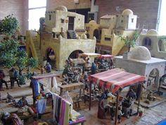 Diy Christmas Village, Its Christmas Eve, Christmas Open House, Christmas Nativity Scene, Christmas Villages, Christmas Decorations, Nativity Scenes, Nativity House, Fontanini Nativity