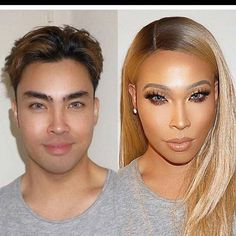 There's some good make up out there fellas,  be careful lol