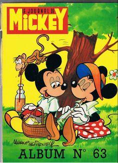 Couverture de (Recueil) Mickey (Le Journal de) -63- Album n°63 (n° 1155 à 1167)