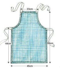 Tutorial apron Try to make this dress for my elora
