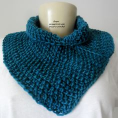 Colw - knit - knitting - tricot - Gola - lã - Tricot by www.rosaacessorios.blogspot.com