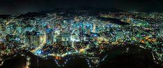 https://flic.kr/p/kNSSYt | Seoul | Seoul, South Korea from Namsan Tower.
