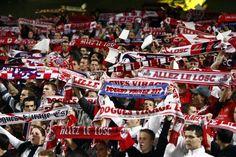 Les supporters de Lille © Christian Liewig/Liewig Media Sports/Corbis/Christian Liewig