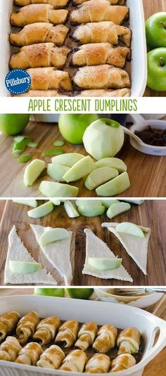 We love Fall! These Apple Crescent Dumplings capture our favorite flavors in one delicious bite. They take only 15 minutes of prep, then bake to perfection! You can treat your family and friends at home or at a party.