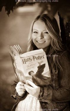 Senior picture Harry Potter