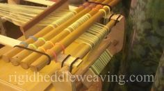 Rigid Heddle Weaving: Beaming Alone: The Simple Tension Device