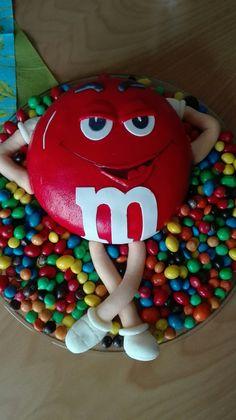 M&M Schokoladenkuchen