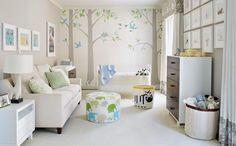 Smart Baby Room Design and Modern Baby Nursery Decorating Ideas Baby Room Neutral, Nursery Neutral, Gender Neutral, White Nursery, Bright Nursery, Nursery Modern, Bedroom Modern, Baby Room Design, Nursery Design