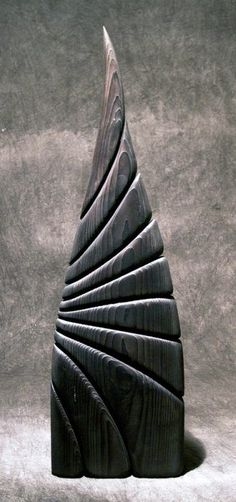 Collections | Thierry Martenon More Pins Like This At FOSTERGINGER @ Pinterest ㊙️㊗️ Art Sculpture, Stone Sculpture, Abstract Sculpture, Wooden Words, Wooden Art, Stone Carving, Wood Carving, Thierry Martenon, Wood Creations