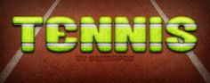 tennis style by sonarpos Text Effects, Tennis, Adobe Photoshop, Room, Design, Free, Style, Trainers, Bedroom