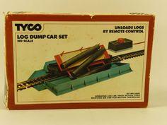 Tyco HO Scale Kit Log Dump Car Set 1978 | eBay
