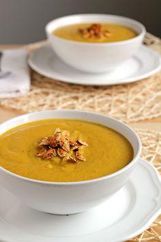 Roasted Pumpkin Soup - In Sonnet's Kitchen