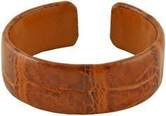 Bracelet Genuine Crocodile Leather SCR-BR20 Safari Jewelcology