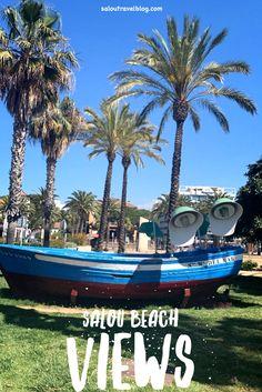 Beach view in Salou, Barcelona, Spain Salou Spain, Barcelona Spain Travel, Northern Italy, Discount Travel, Travel Deals, Malaga, City, Beach, The Beach