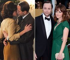 Their Mad Men love story isn't so romantic — Pete and Beth both cheat on their spouses — but in real life, Vincent Kartheiser and Alexis Bledel's situation lacks the scandalous aspect, and they got engaged last year. (And he was in angel!)