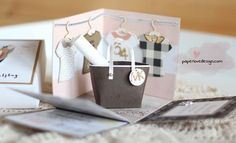 EXPLOSIONSBOX ZUM GEBURTSTAG – MUTTER TOCHTER SHOPPING WOCHENENDE – Mein Bastelatelier Birthday Explosion Box, Ideas Scrapbook, Card In A Box, Gift Box Birthday, Birthday Ideas, Exploding Box Card, Diy And Crafts, Paper Crafts, Happy Party