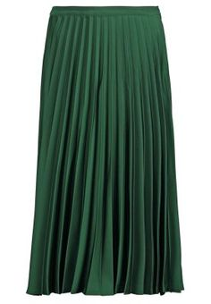 Faltenrock - darkgreen Topshop, Skirts, Outfits, Fashion, Trends, Girls, Moda, Suits, Skirt