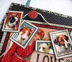 Scrapbooking.com -- Article - Love Is a Four-Legged Word by Judi Kauffman #graphic45