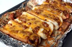 Oven Chili Cheese Dogs – All Simply Recipes